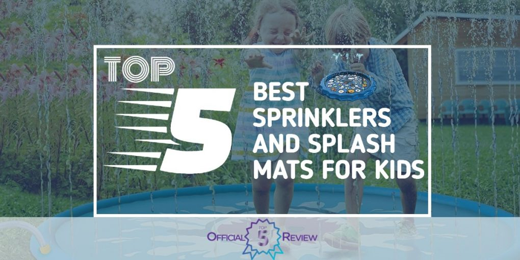 Sprinklers and Splash Mats for Kids - Featured Image