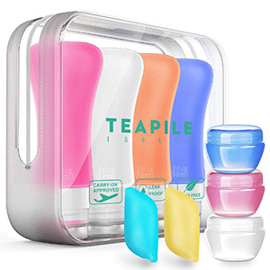 Teapile 9-Pack Travel Bottles