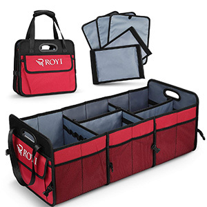 Tomser Upgraded Collapsible Car Trunk Organizer