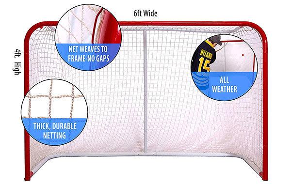 Top Shelf Street and Roller Hockey Regulation Goal