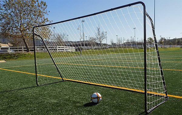 Vallerta Powder Coated Galvanized Steel Soccer Goal