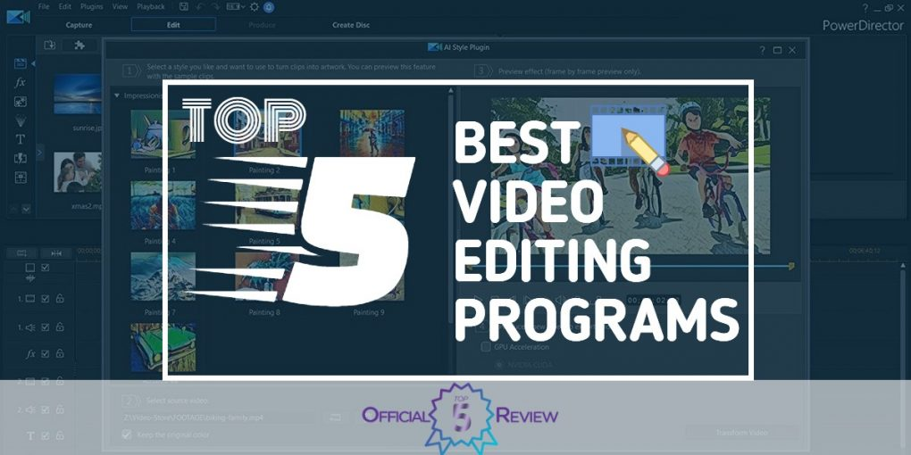Video Editing Programs - Featured Image