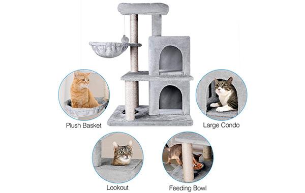 ZNWIYE Cat Tree Condo