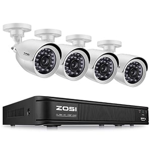 ZOSI 720P Home Security Camera System
