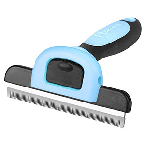 MIU COLOR Pet Deshedding Tool and Grooming Brush