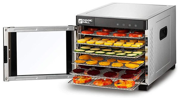 Magic Mill Commercial Pro 6-Tray Food Dehydrator