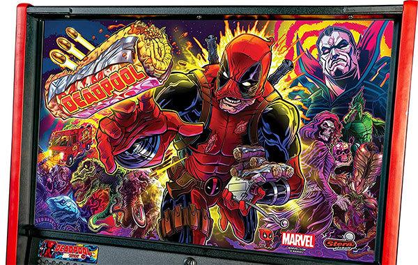 Stern Pinball Deadpool Arcade Pinball Machine