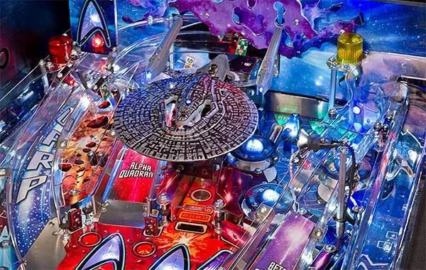 Stern Pinball Star Trek Pro Arcade Pinball Machine
