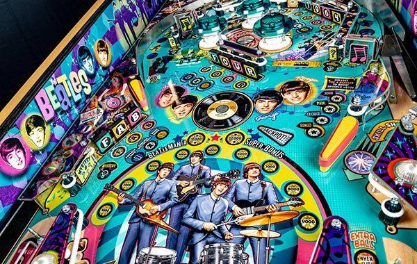Stern Pinball The Beatles Arcade Pinball Machines