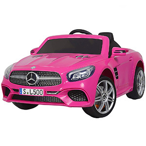 Uenjoy 12V Licensed Mercedes-Benz SL500 Kids Ride On Car