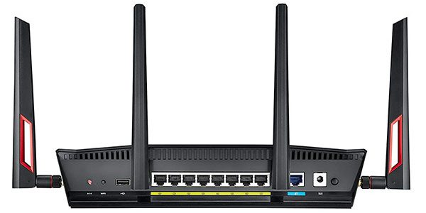 ASUS Dual-Band Gigabit WiFi Gaming Router