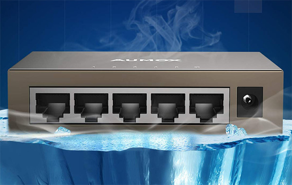 Aumox Gigabit Ethernet Network Switch