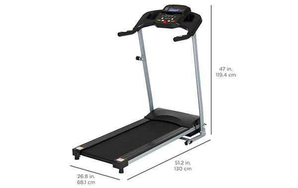 BCP Folding Treadmill Machine