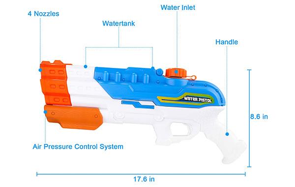 Balnore Water Gun Soaker