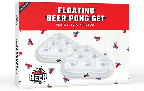 Beer Nation Pool Beer Pong Game