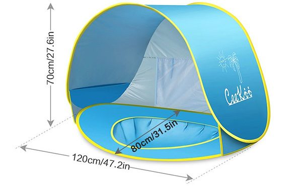 CeeKii Baby Beach Tent
