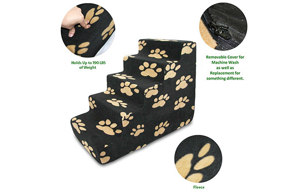 CertiPUR-US Certified Foam Pet Steps/Stairs