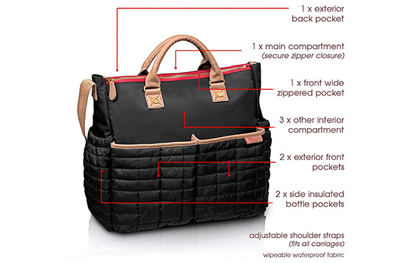 Diaper Bag by Maman