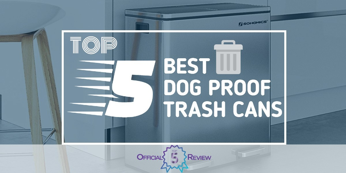 Dog Proof Trash Cans - Featured Image