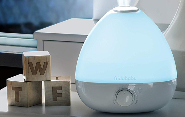 FridaBaby 3-in-1 Humidifier, Diffuser, Nightlight for Nursery Uses