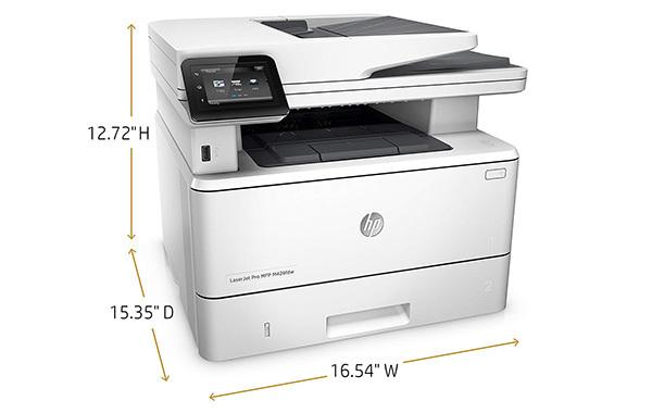 HP LaserJet Pro M426fdw All-in-One Wireless Laser Printer