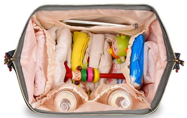 HaloVa Diaper Bag Waterproof Travel Backpack