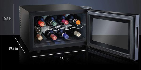 Ivation Countertop Thermoelectric Wine Cooler /Chiller