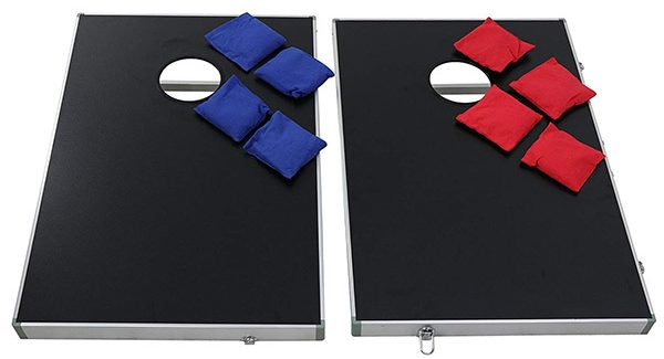 Nova Microdermabrasion Cornhole Bean Bag Toss Game Set