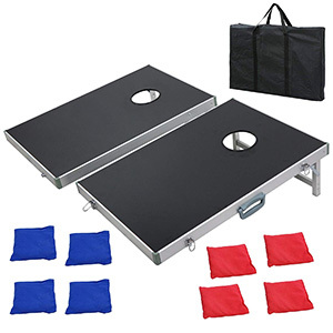 Nova Microdermabras -ion Cornhole Bean Bag Toss Game Set