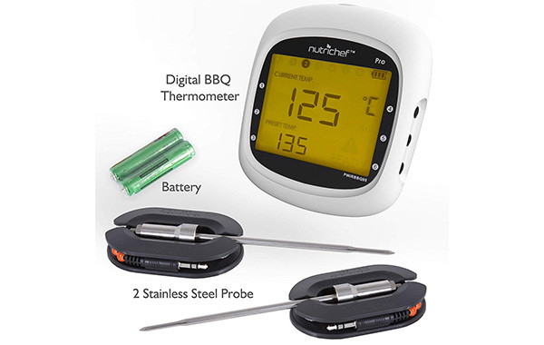 NutriChef Smart Grill Thermometer