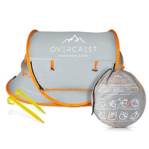 Overcrest Portable Beach Pop Up Tent
