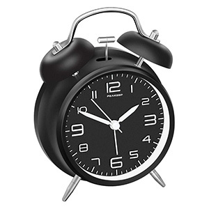 Peakeep 4 Inches Twin Bell Alarm Clock
