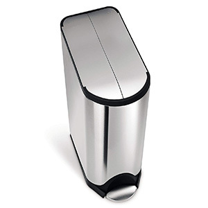 Simplehuman 11.9 G Butterfly Lid Kitchen Step Trash Can