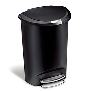 Simplehuman 13 G Semi-Round Kitchen Step Trash Can