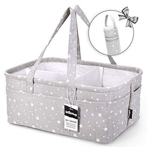 StarHug Unique Baby Diaper Caddy Organizer