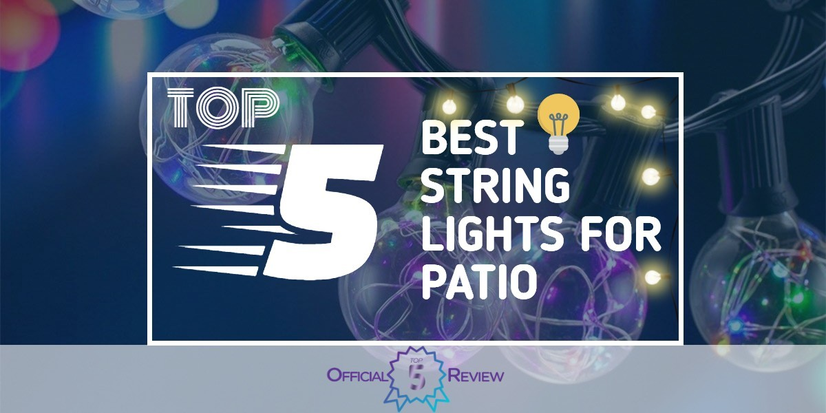 String Lights For Patio - Featured Image