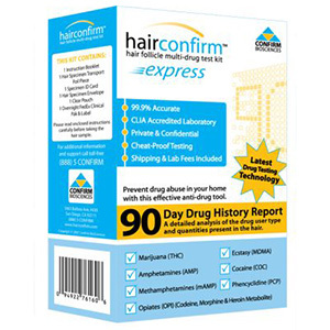 Hair Follicles Drug Test Kit