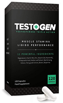 Testogen Review - Testogen Box with Tablet
