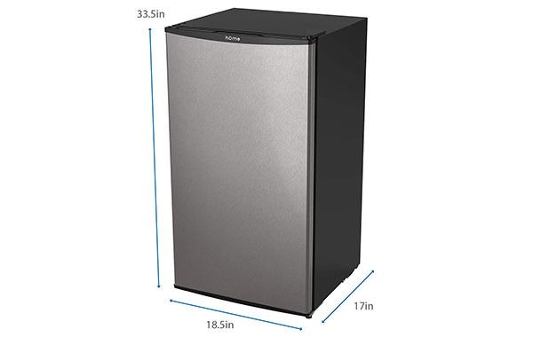 hOmeLabs Mini Fridge - 3.3 cu ft Under Counter Refrigerator