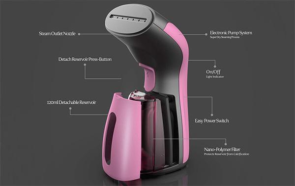 iSteam Luxury Edition Steamer Technology