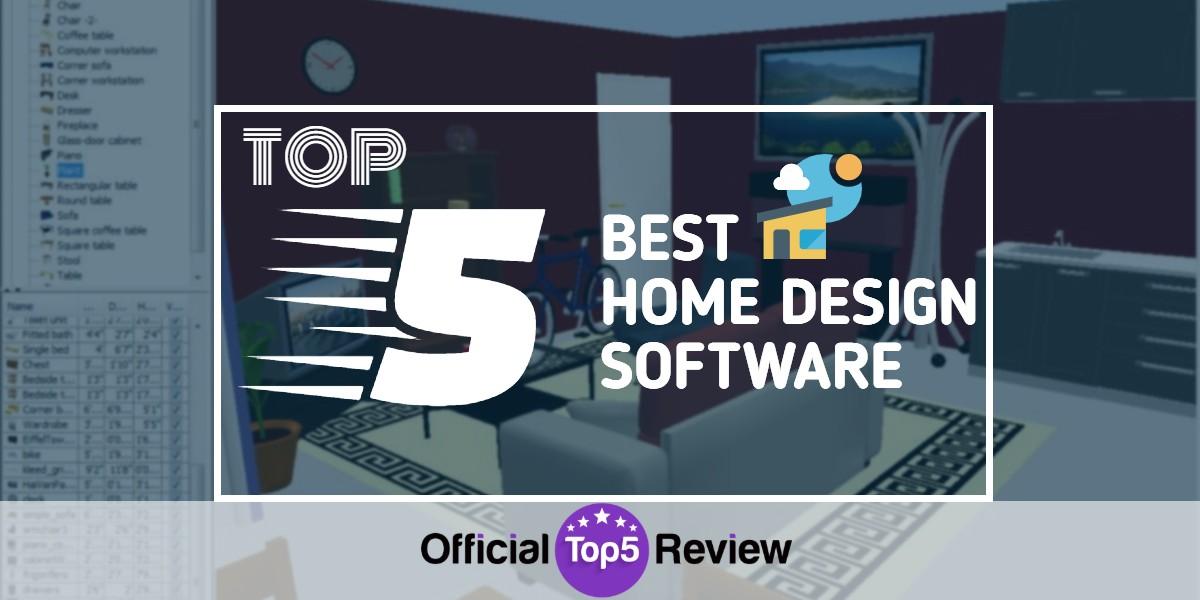 5 Top Home Design Software Programs