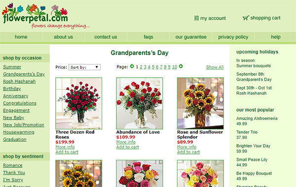 FlowerPetal.com