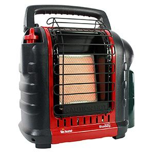 Mr. Heater F232000 MH9BX Buddy 4,000-9,000-BTU Indoor-Safe Portable Propane Radiant Heater