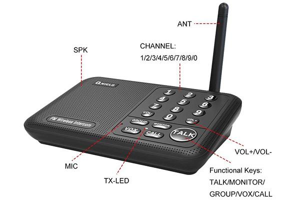Qniglo Wireless Intercom System