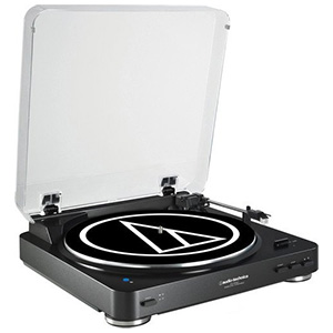 Audio Technica Fully Automatic Bluetooth Wireless Belt-Drive Stereo Turntable