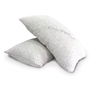 EnerPlex Never-Flat 2-Pack Luxury King Size Pillow