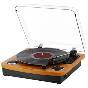 JOPOSTAR Vinly Record Player Bluetooth Turntable