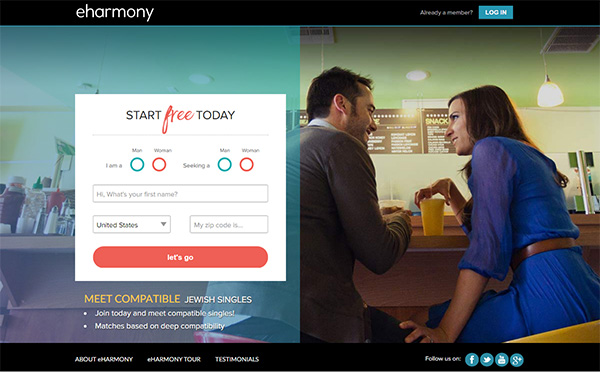 eHarmony Jewish Dating