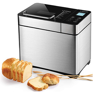 ALBOHES Stainless Steel Bread Machine