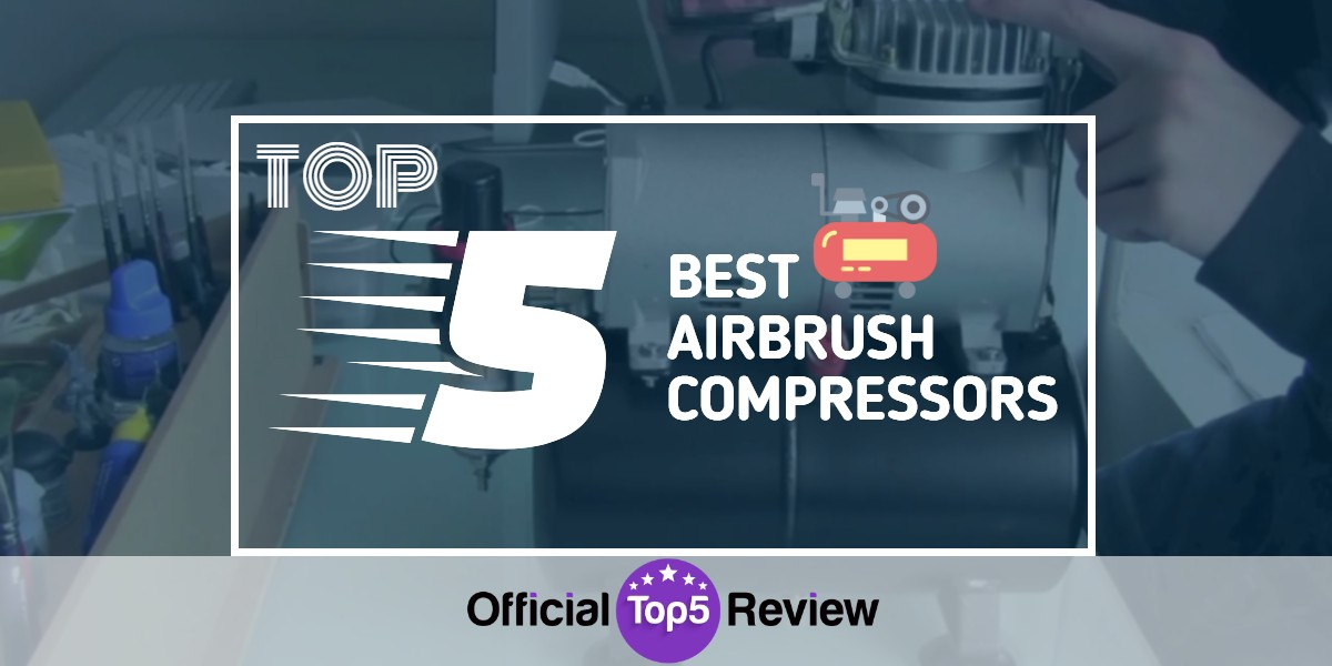 Airbrush Compressors - Featured Image